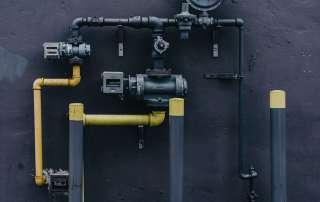 TRV de gaz